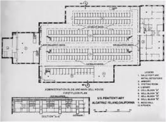 Alcatraz Floor Plan Home